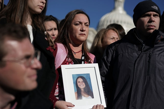 Congressional Democrats, Gun Control Advocates Call For Action On Gun Safety