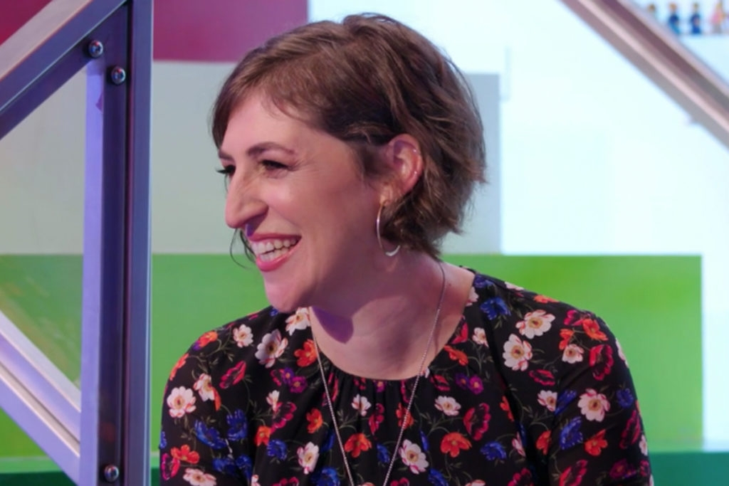 Mayim Bialik Is Smashing As a 'Lego Masters' Guest Judge