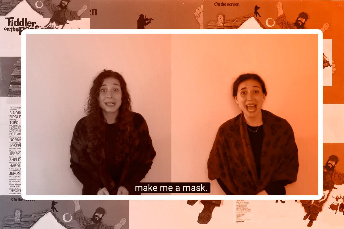 Screengrab from Maskmaker, Maskmaker video