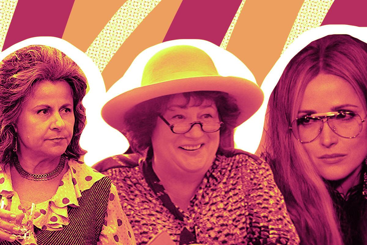 Betty Friedan, Bella Abzug and Gloria Stienem in Mrs. America