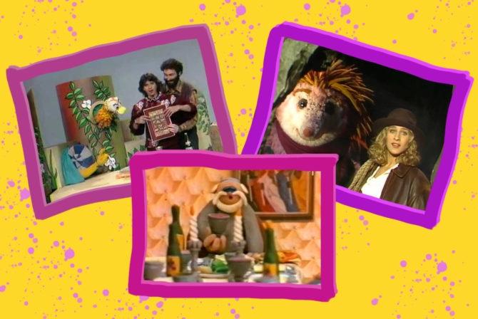 Passover specials: Parpar Nechmad, the Animated Haggadah and Shalom Sesame