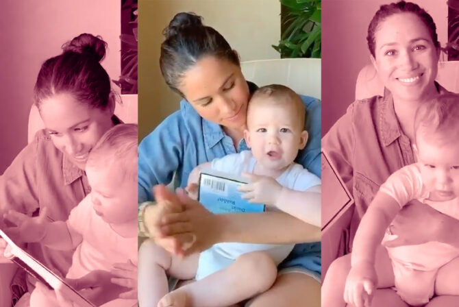 Meghan Markle Reads to Baby Archie and We're Totally Kvelling
