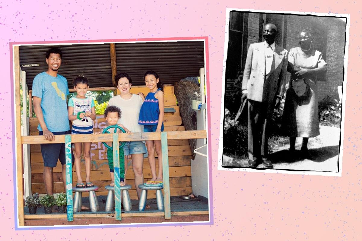 black jewish family
