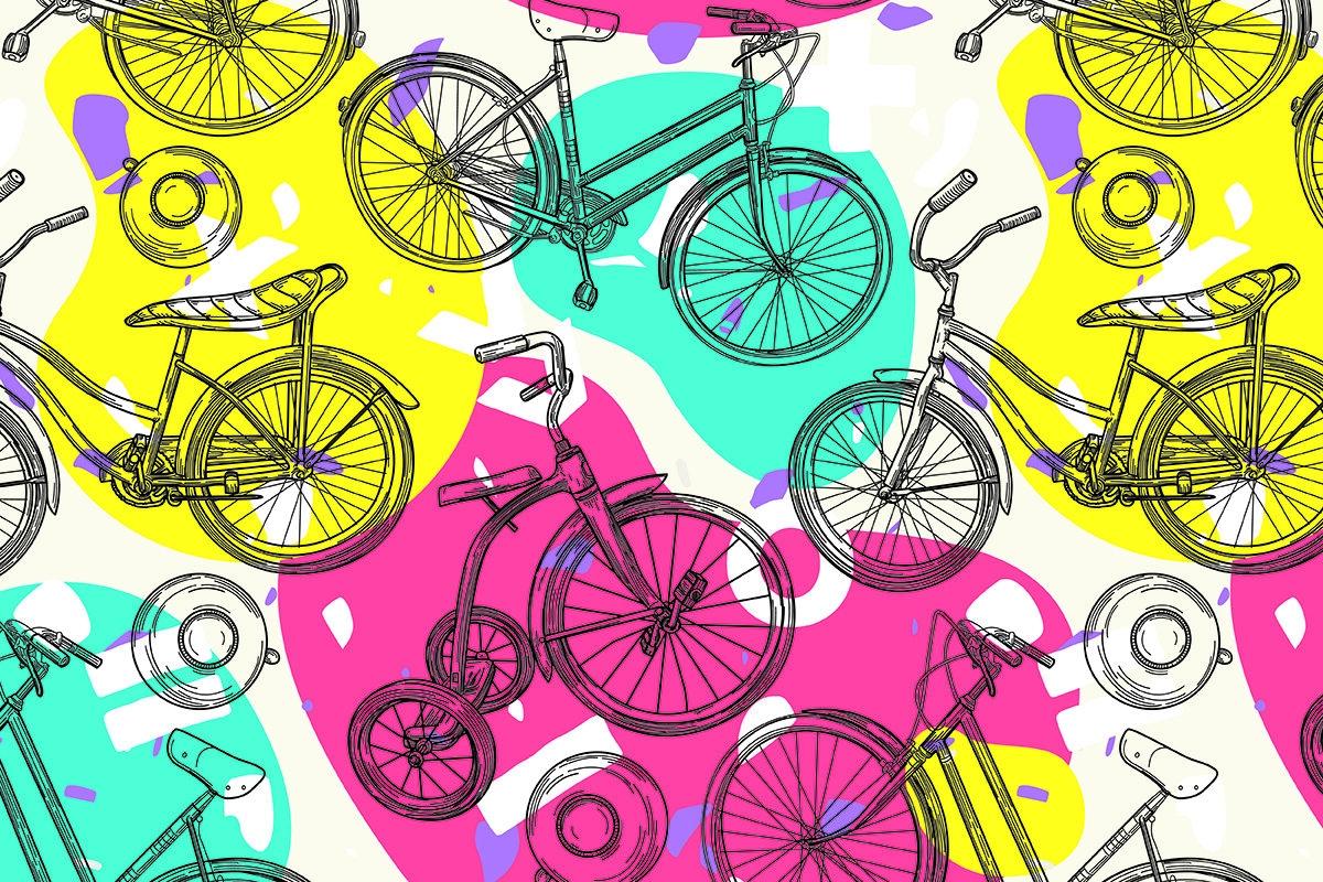 bikes texture