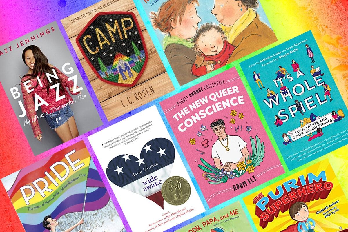 LGBTQIA+ Jewish Books