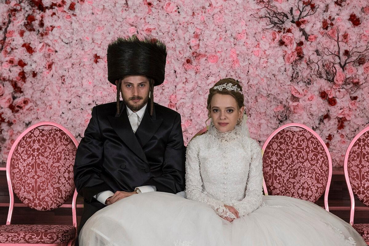 UNORTHODOX Wedding portrait