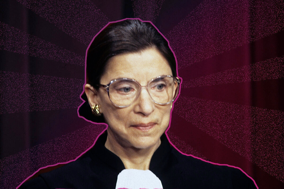 RBG at her confirmation day, August of 1993