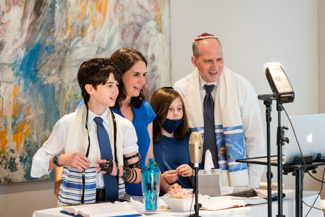 How to Make a Zoom Bar or Bat Mitzvah Work for Your Family