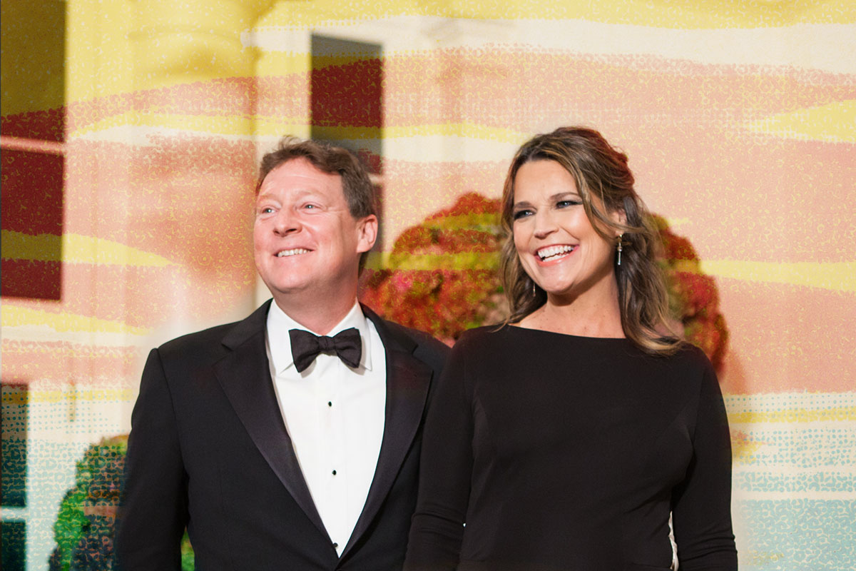 NBC's Today Show co-host Savannah Guthrie and her husband Michael Feldman, arrive at the White House in Washington, DC, USA on 18 October 2016, for the Italy State Dinner for Prime Minister of Italy Matteo Renzi and his wife Agnese Landini, hosted by U.S. President Barack Obama and First Lady Michelle Obama, their final state dinner. (Photo by Cheriss May/NurPhoto via Getty Images)