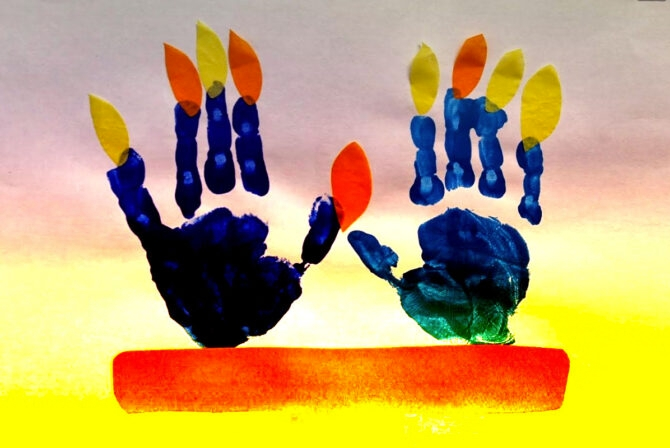 10 Pandemic-Friendly Hanukkah Activities Perfect For Young Children