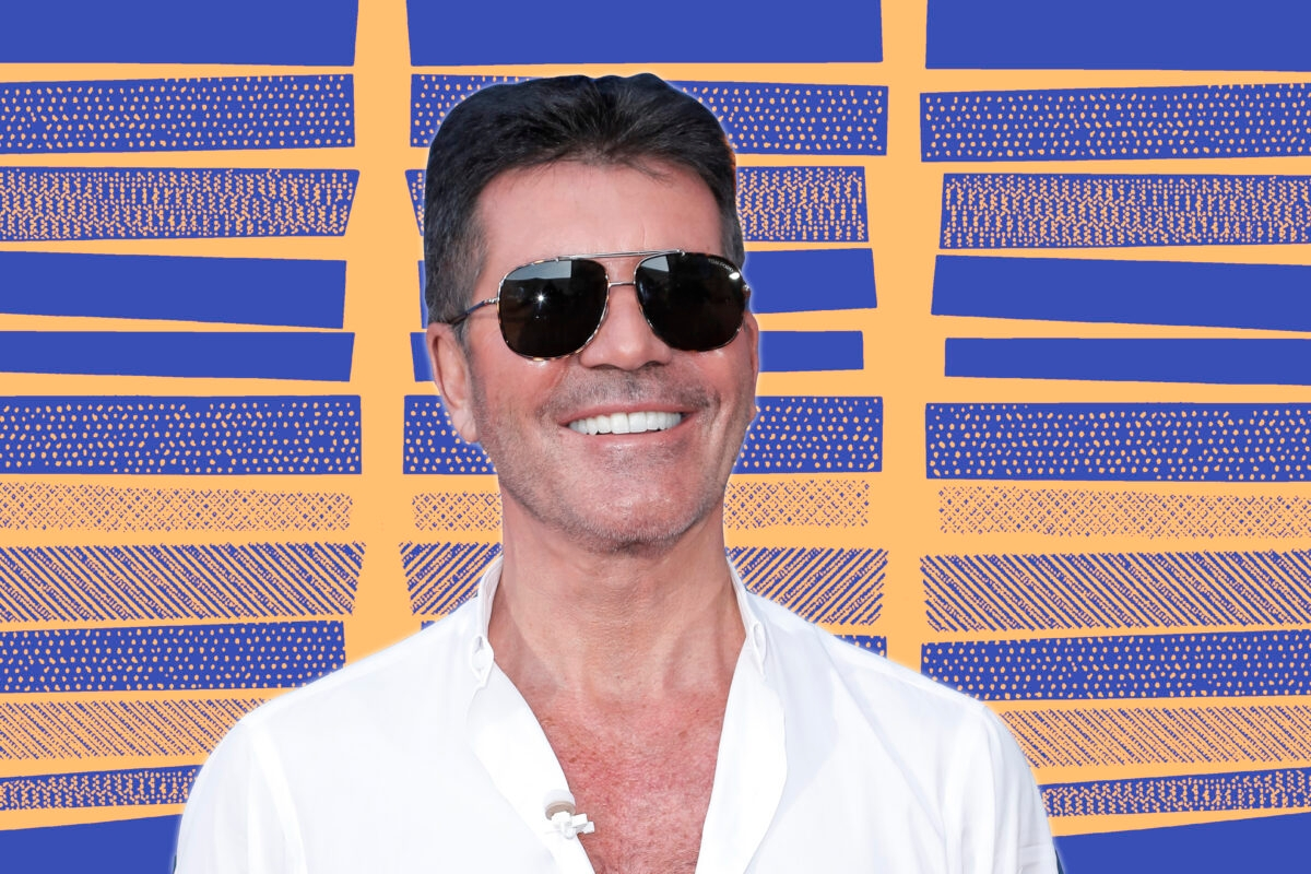 """PASADENA, CALIFORNIA - MARCH 04: Simon Cowell attends the """"America's Got Talent"""" Season 15 Kickoff at Pasadena Civic Auditorium on March 04, 2020 in Pasadena, California. (Photo by Tibrina Hobson/WireImage)"""