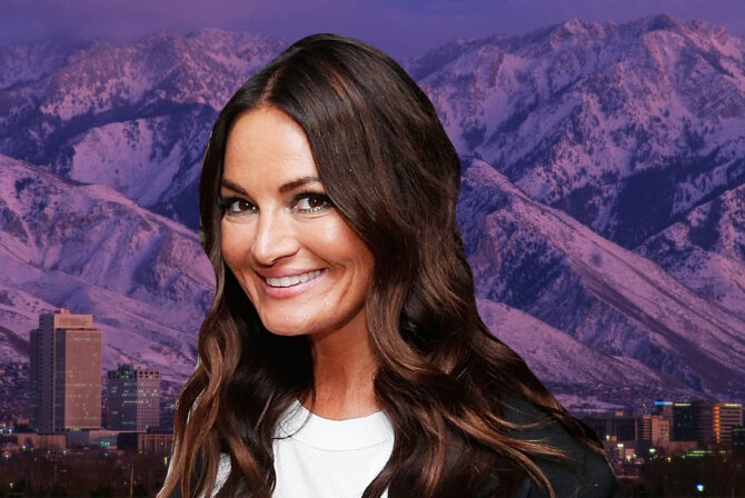 This 'Real Housewives of Salt Lake City' Star Is an Unlikely Role Model for Jewish Families