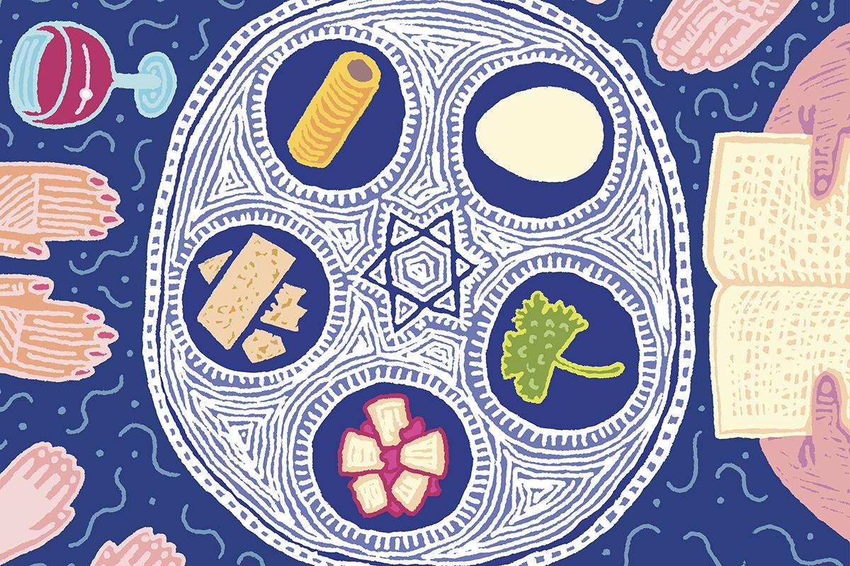 Seder Feast on Passover.