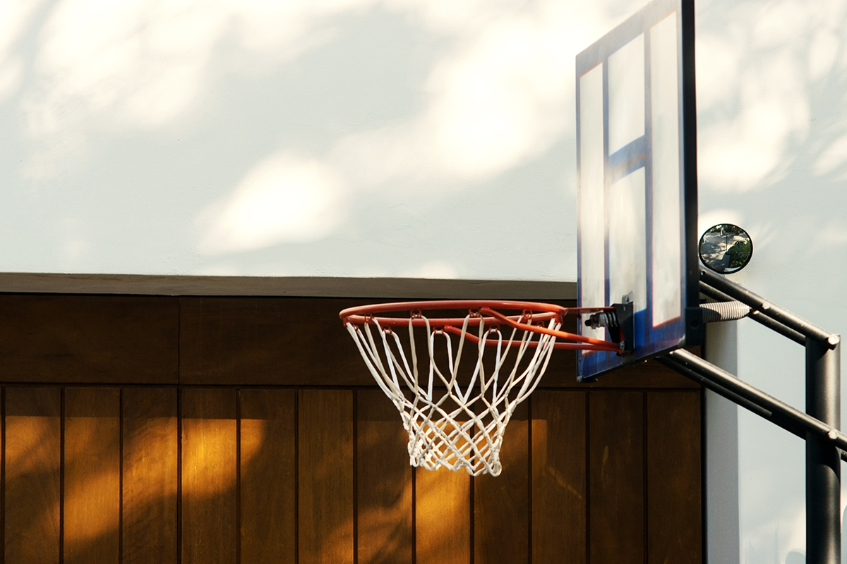 The Real Reason I Wanted to Keep Our Family Basketball Hoop