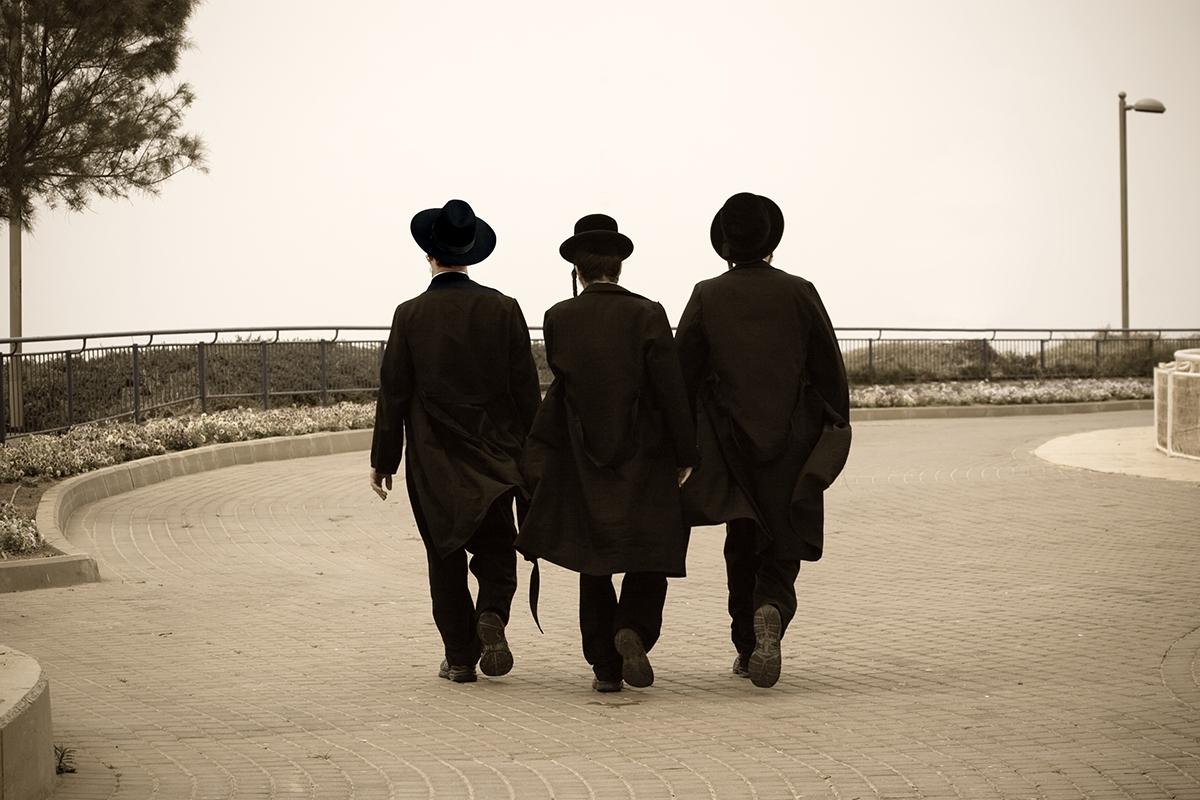 Three Hasidic Jews