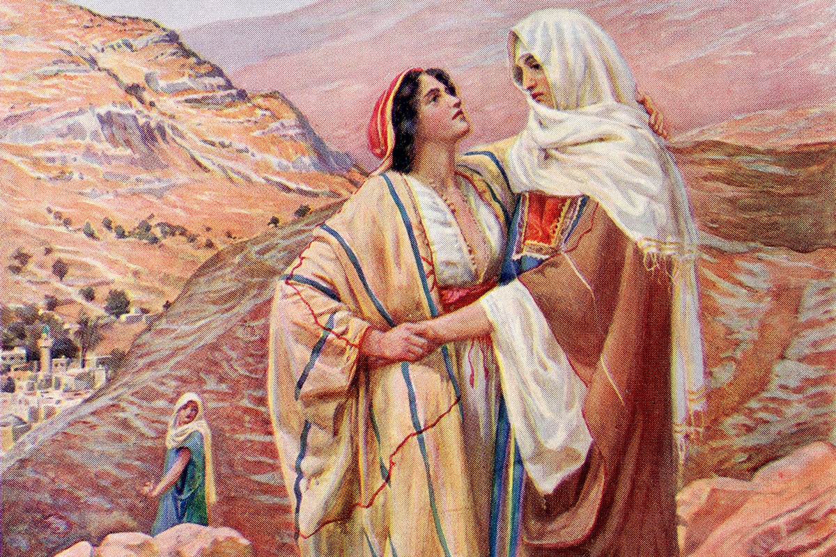 Ruth and Naomi from the book of Ruth.