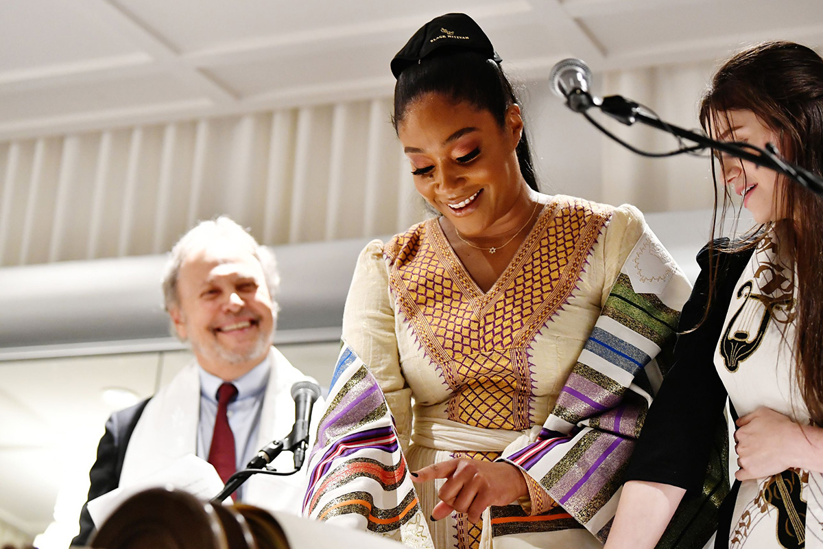 BEVERLY HILLS, CALIFORNIA - DECEMBER 03: <> attends Tiffany Haddish: Black Mitzvah at SLS Hotel on December 03, 2019 in Beverly Hills, California. (Photo by Emma McIntyre/Getty Images for Netflix)