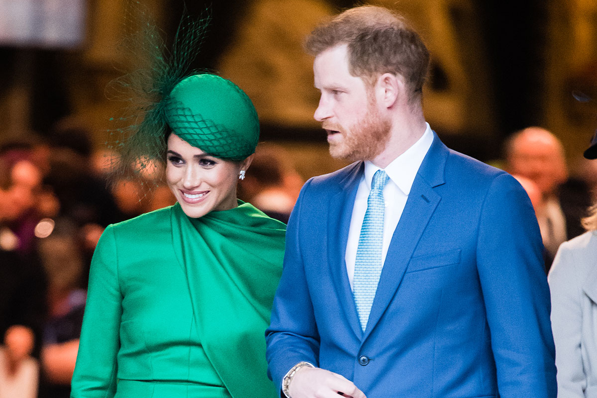 Prince Harry the Duke of Sussex, and the Duchess of SussexMeghan Markle